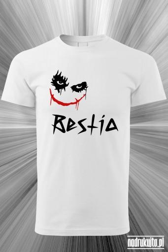 Bestia - koszulka męska z nadrukiem
